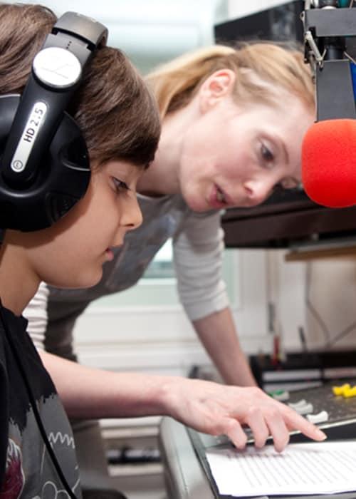 Radio Kindergeburtstag im Tonstudio