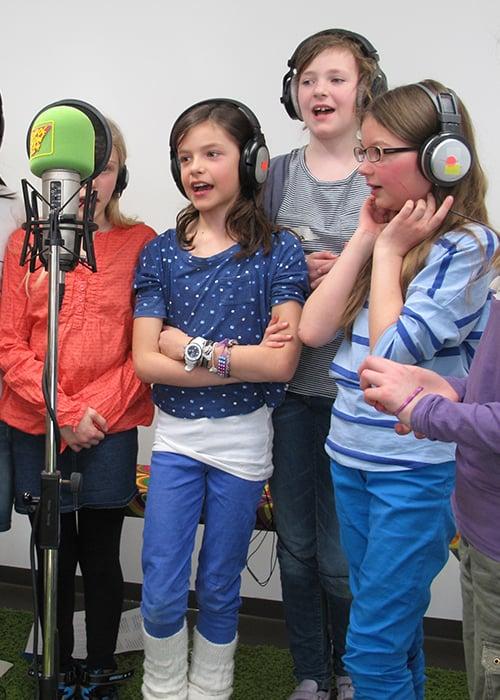 Lieder für die eigene Radiosendung im Feierwerk
