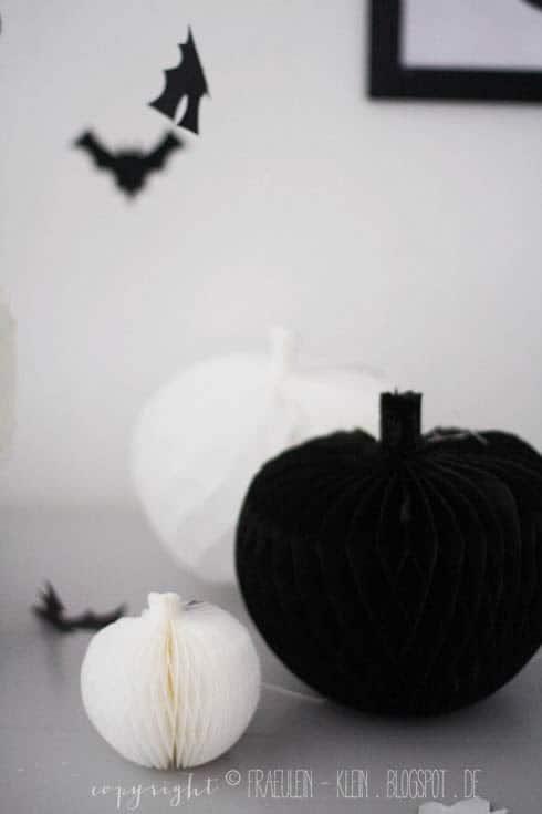 Halloween Kürbis basteln