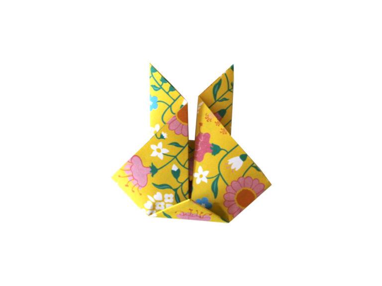 Origami Hase Anleitung Schritt 9