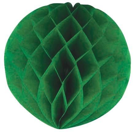 Wabenball 30 cm grün