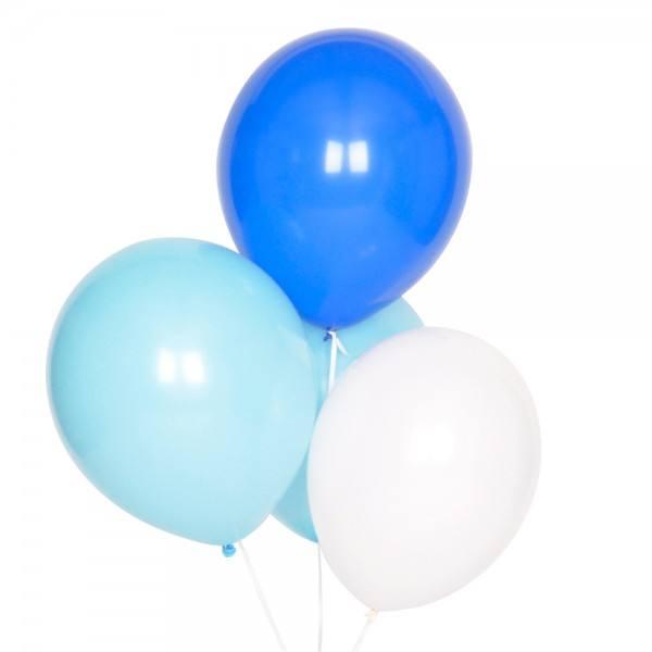 Little Luftballonset blau