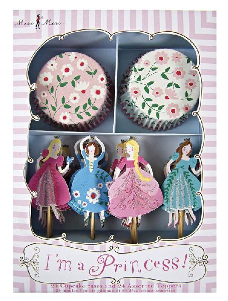 Meri Meri - Cupcake Set Prinzessin