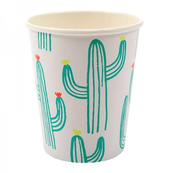 Meri Meri - Pappbecher Kaktus