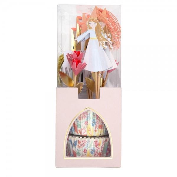 Meri Meri - Cupcake Set Prinzessin Magical