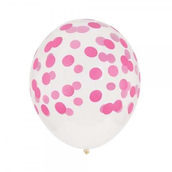 Little Luftballon Konfetti pink