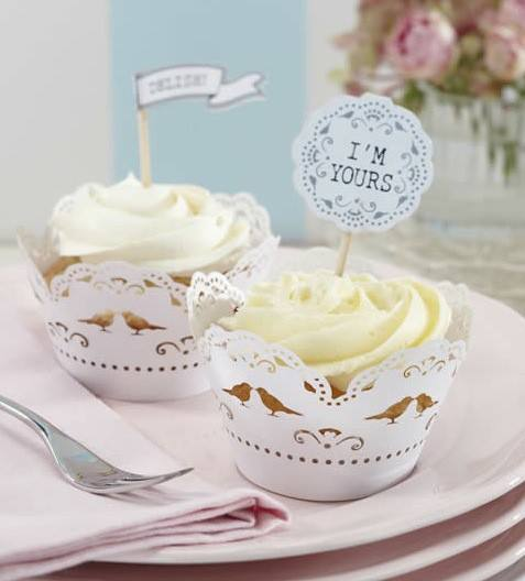 Cupcake Wrapper Lace