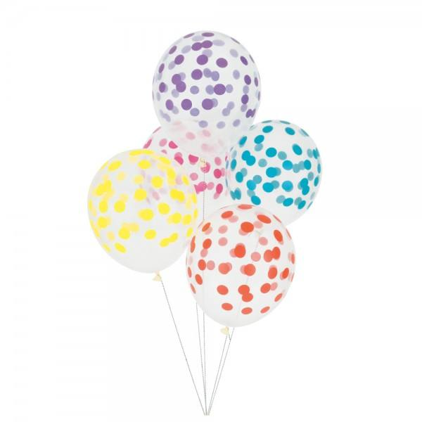 Little Luftballon Konfetti multicolor