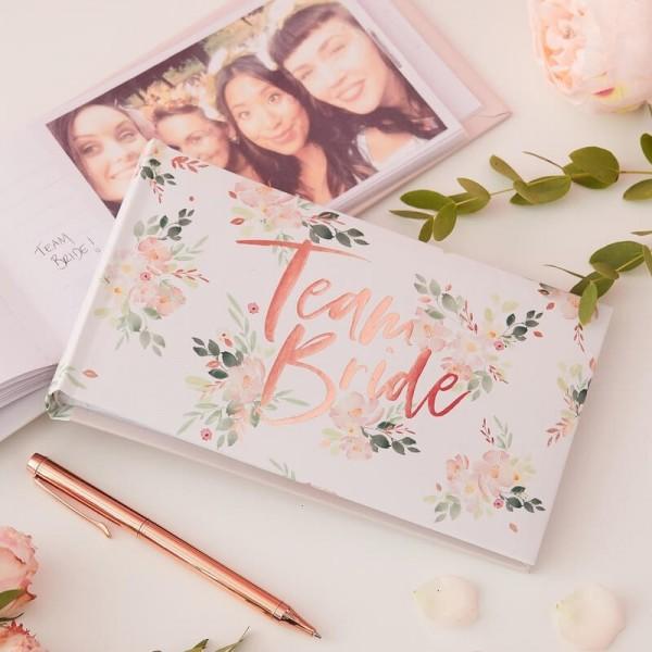Team Bride Floral Fotoalbum
