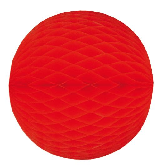 Wabenball rot div. Größen