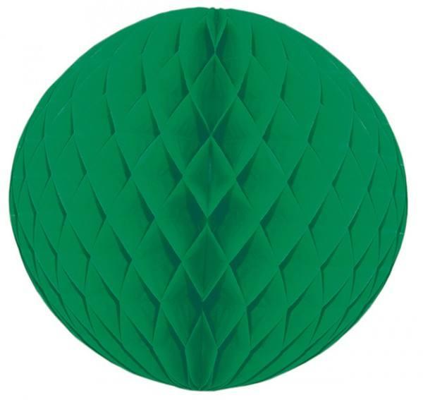 Wabenball dunkelgrün div. Größen