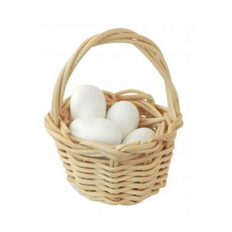 Korb mit Eiern