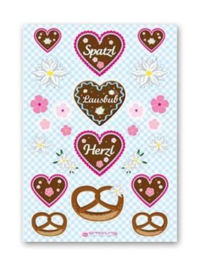 Sticker Spatzl & Lausbub