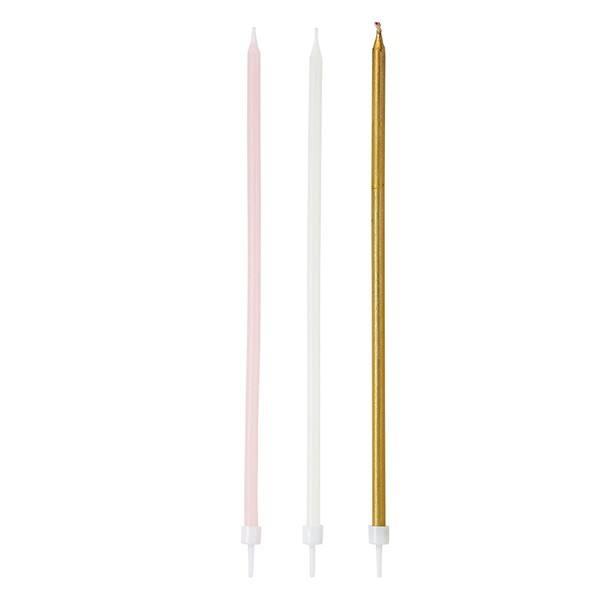Pink - Kerzen lang