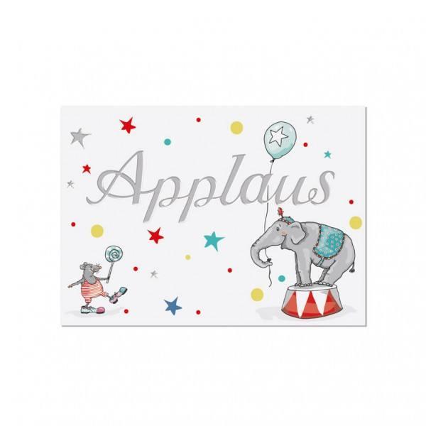 Krima & Isa - Postkarte Applaus