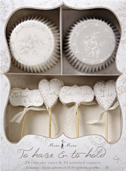 Meri Meri - Cupcake Set To Have and to Hold