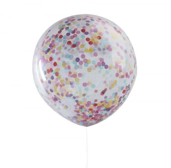 Riesenballon Confetti bunt