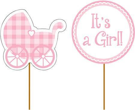 Cupcake Stecker It´s a girl