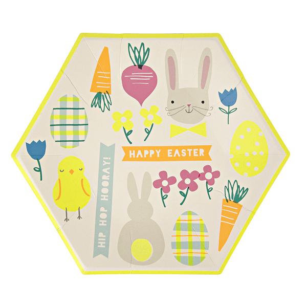 Meri Meri - Hop Hooray Ostern Teller