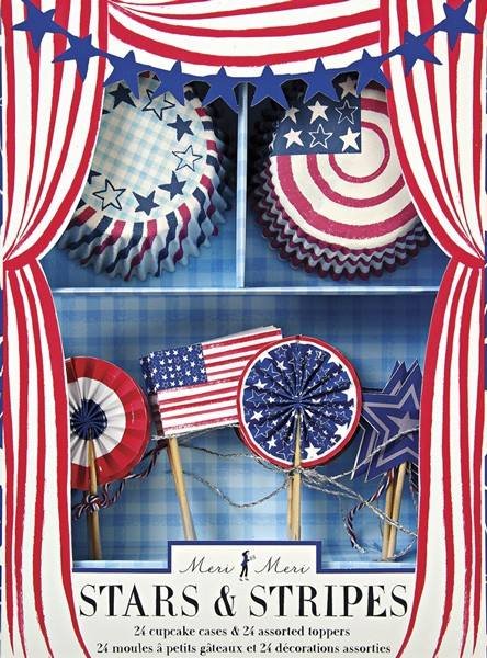 Meri Meri - Cupcake Set Stars and Stripes