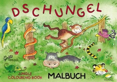 Malbuch Dschungel