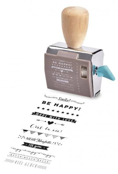 Happy me Drehstempel Geschenkset