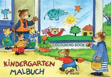 Malbuch Kindergarten