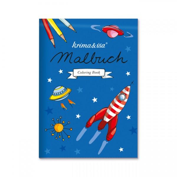 Krima & Isa Malbuch Raumfahrt