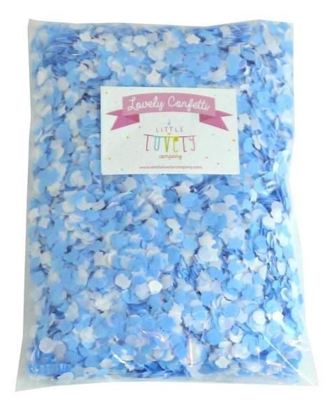 Lovely - Confetti blau