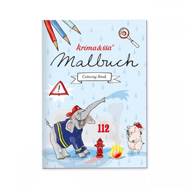 Krima & Isa Malbuch Feuerwehr