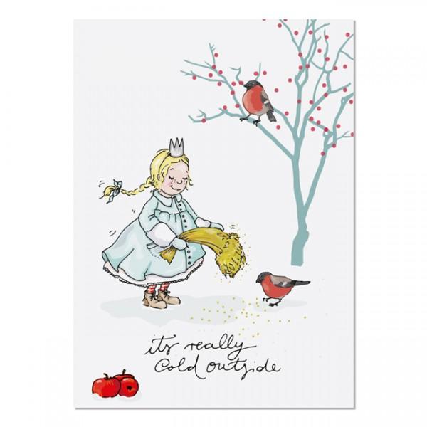 Krima & Isa - Postkarte Eisprinzessin