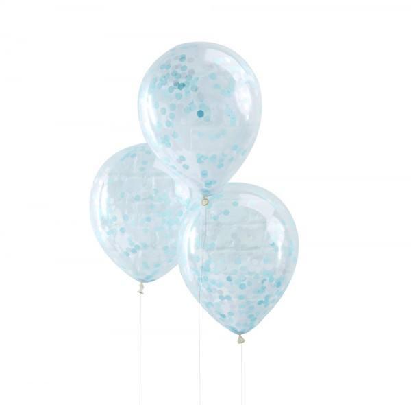 Pick & Mix - Ballons Konfetti blau