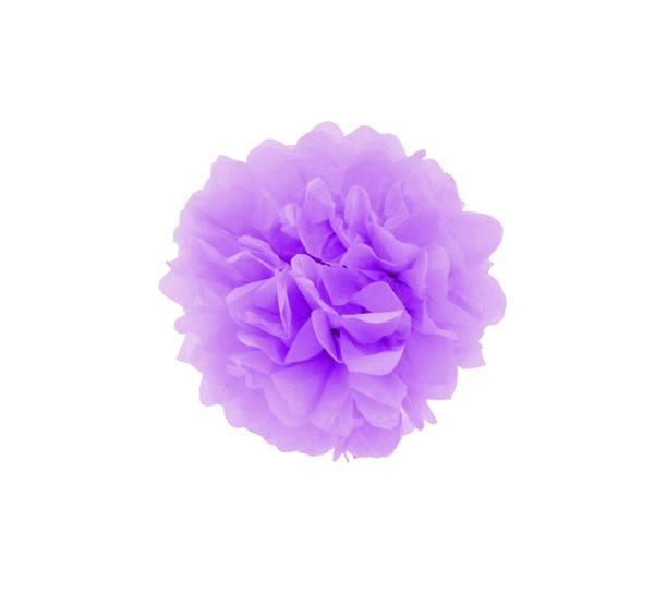 Pom Pom 25 cm rund lila