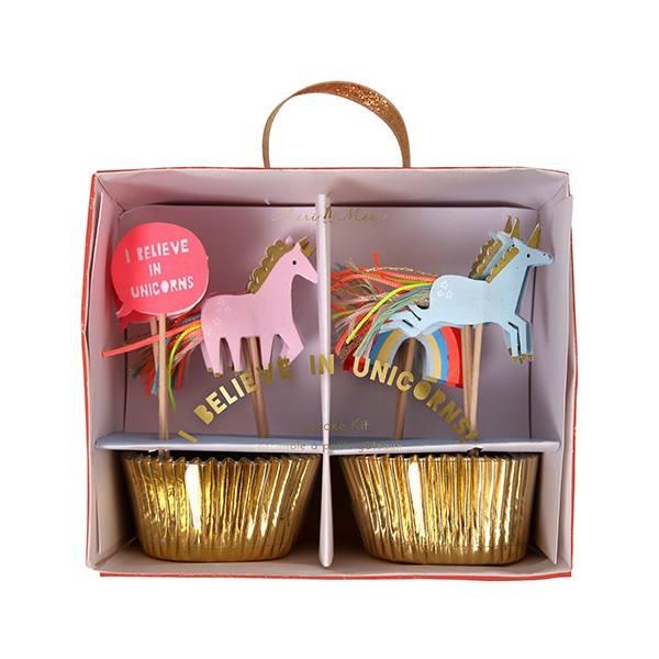Meri Meri - Cupcake Set Einhorn