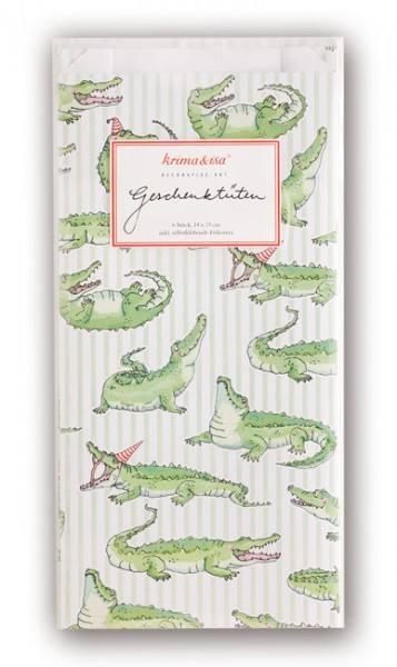 Krima & Isa Geschenktüten Krokodil