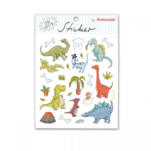 Krima & Isa Sticker Set Dinos