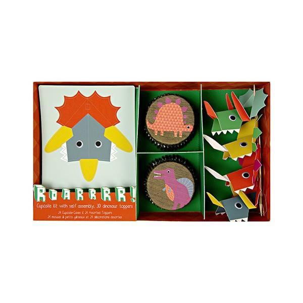 Meri Meri - Cupcake Set Dinosaurier Vers. II