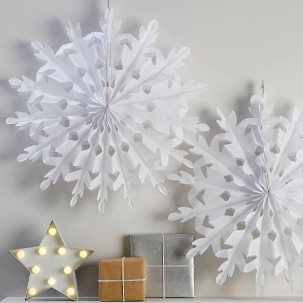 Christmas Metallics - Schneeflockenset groß