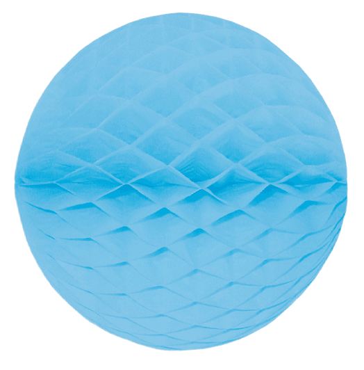 Mini Wabenball hellblau 6 cm