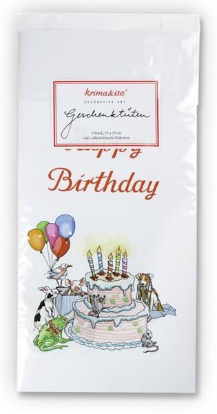 Krima & Isa Geschenktüten Happy Birthday