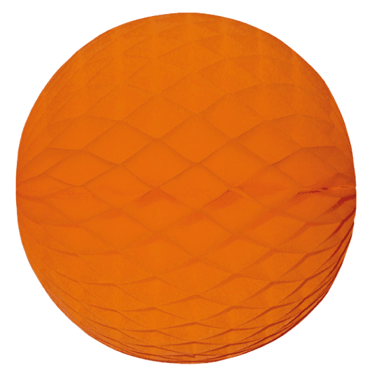 Mini Wabenball orange 6 cm