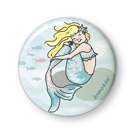 Krima & Isa - Button Meerjungfrau