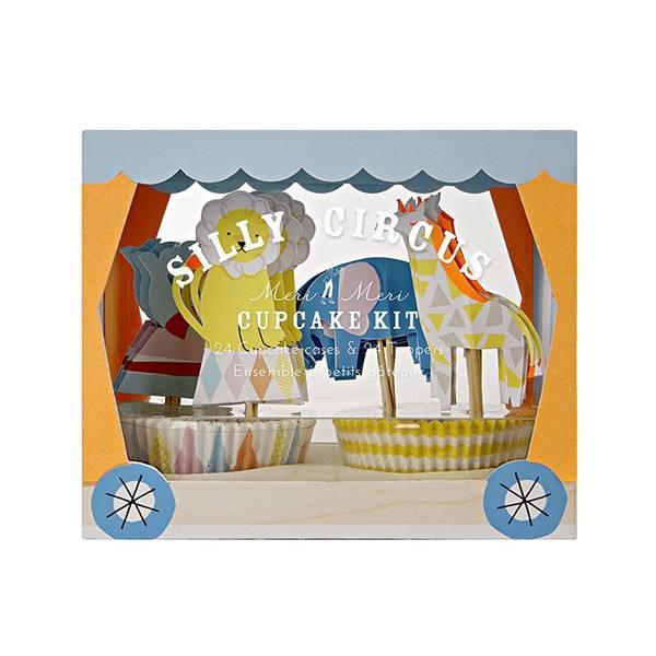 Meri Meri - Cupcake Set Silly Circus