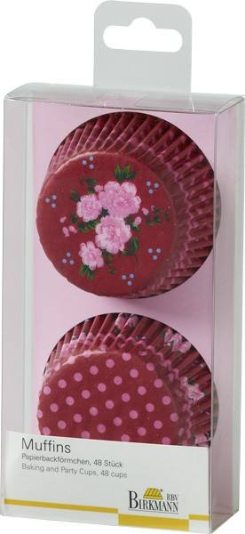 Muffin Förmchen La vie en Rose