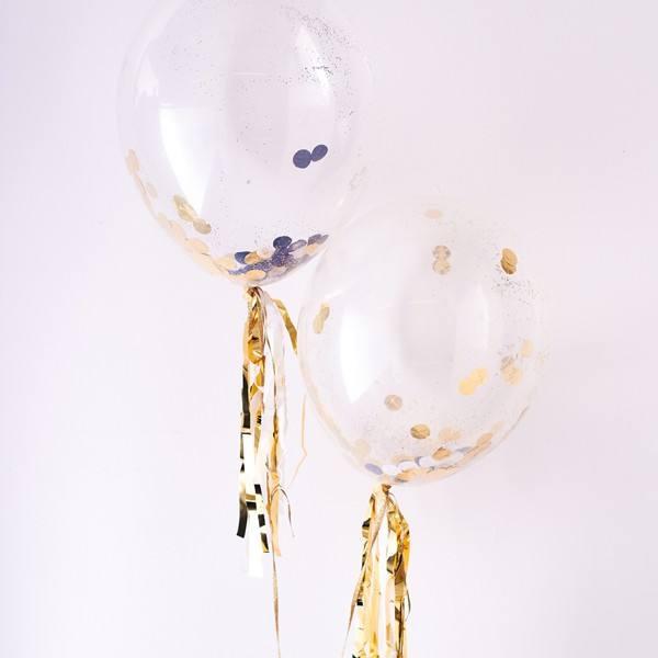 Meri Meri - Ballonset Confetti gold