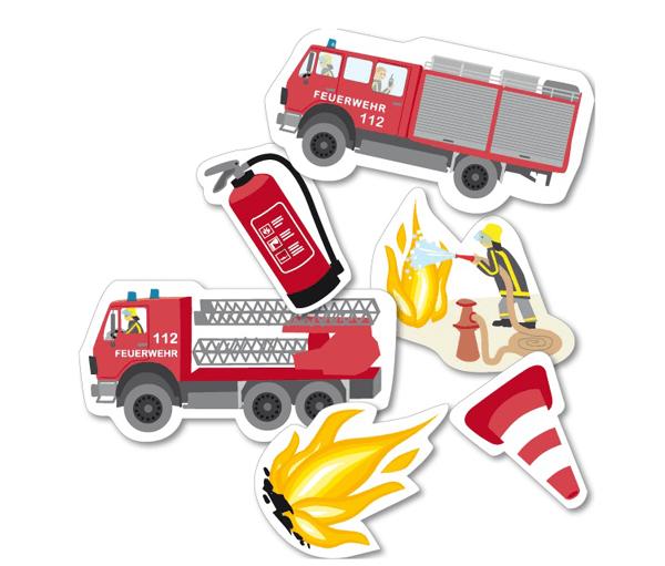 XXL Konfetti Feuerwehr