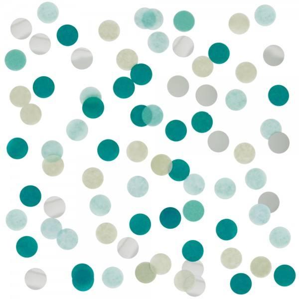 Confetti Mix Folie grün