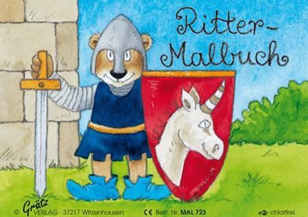 Malbuch Ritter