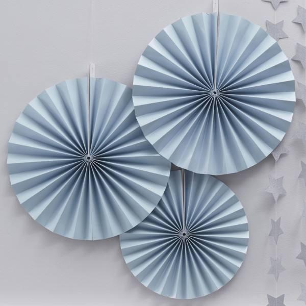 Pastel Perfection - Rosettenset hellblau