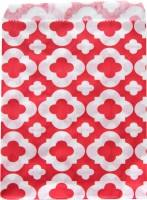 Candytüten Set rot Retro Blumen
